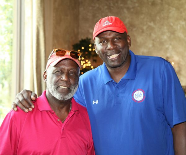 Richard Roundtree & Olden Polynice